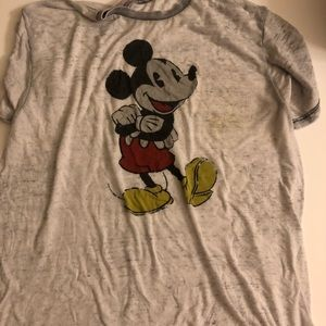 Womens Vintage Mickey Mouse Tshirt size XL